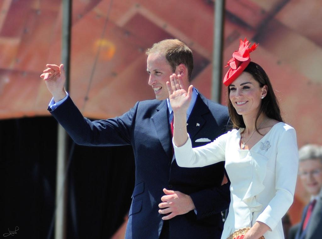 The Duke and Duchess of Cambridge in Ottawa, Canada | © tsaiproject / WikiCommons