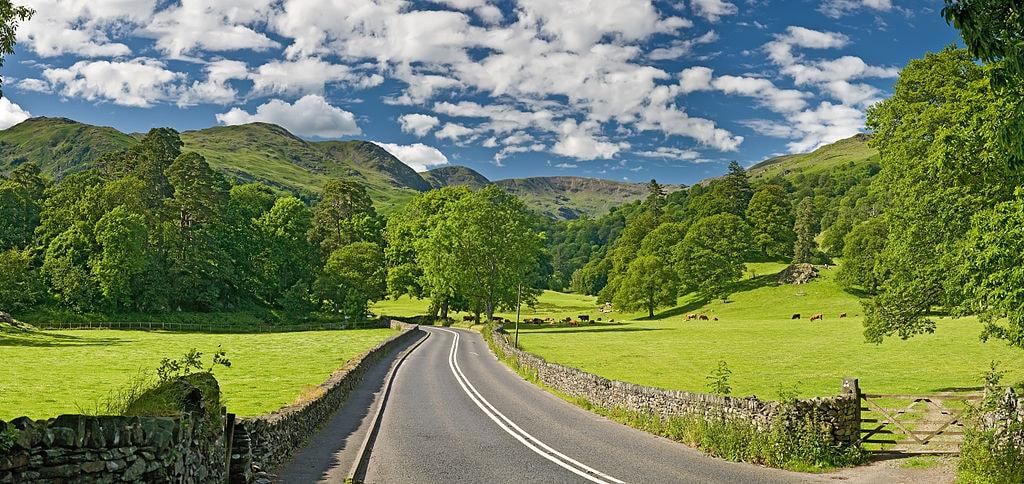 Lake District road