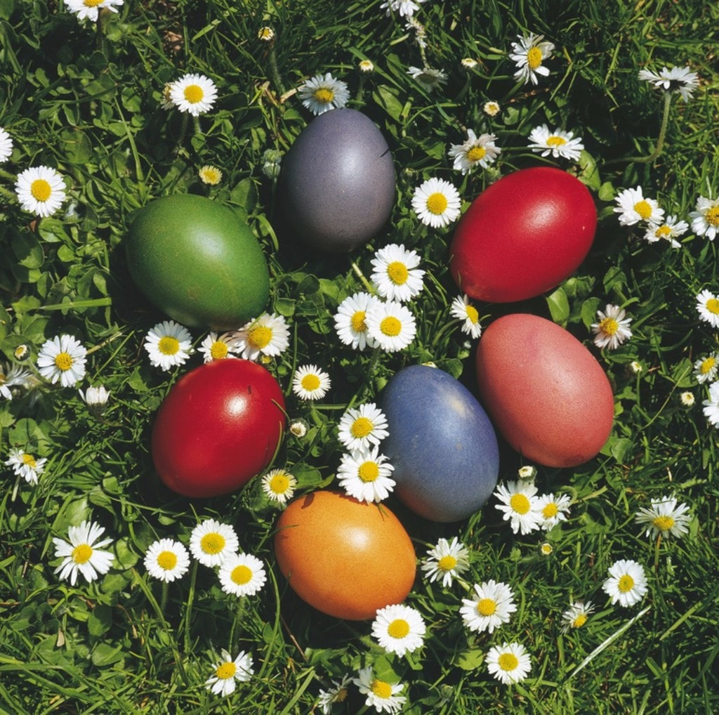 Colourful Easter eggs | Courtesy of the Austrian Tourist Board