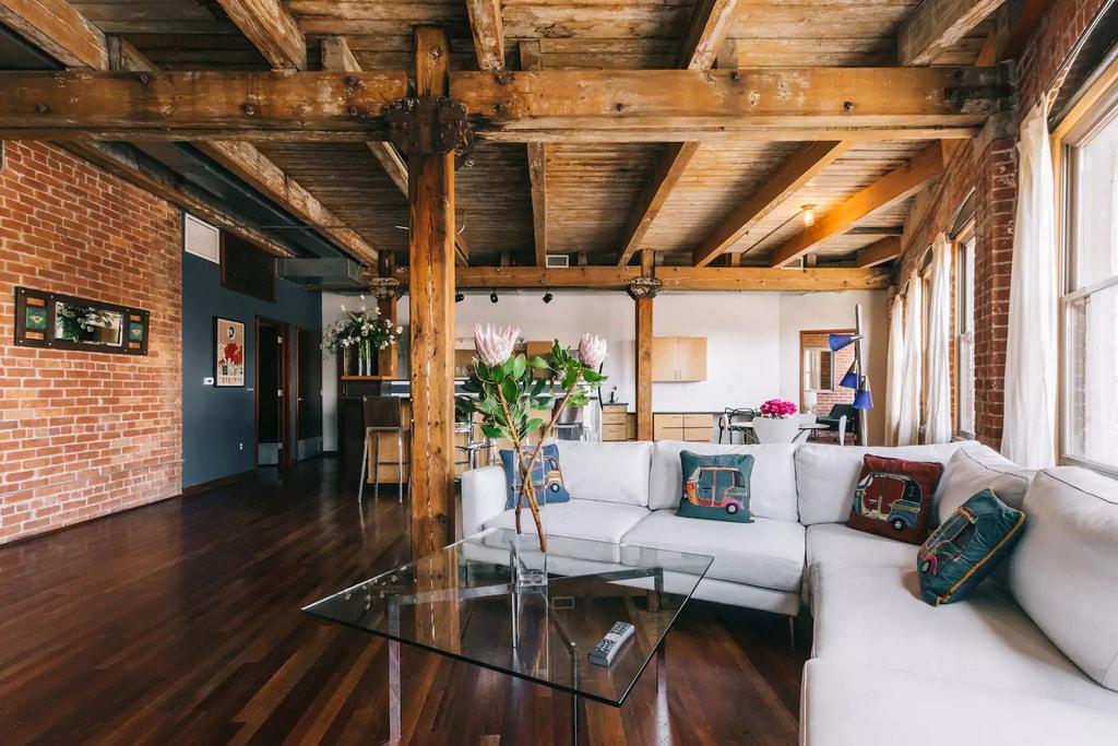Luxury loft in Eastern Market | Courtesy of Don/Airbnb