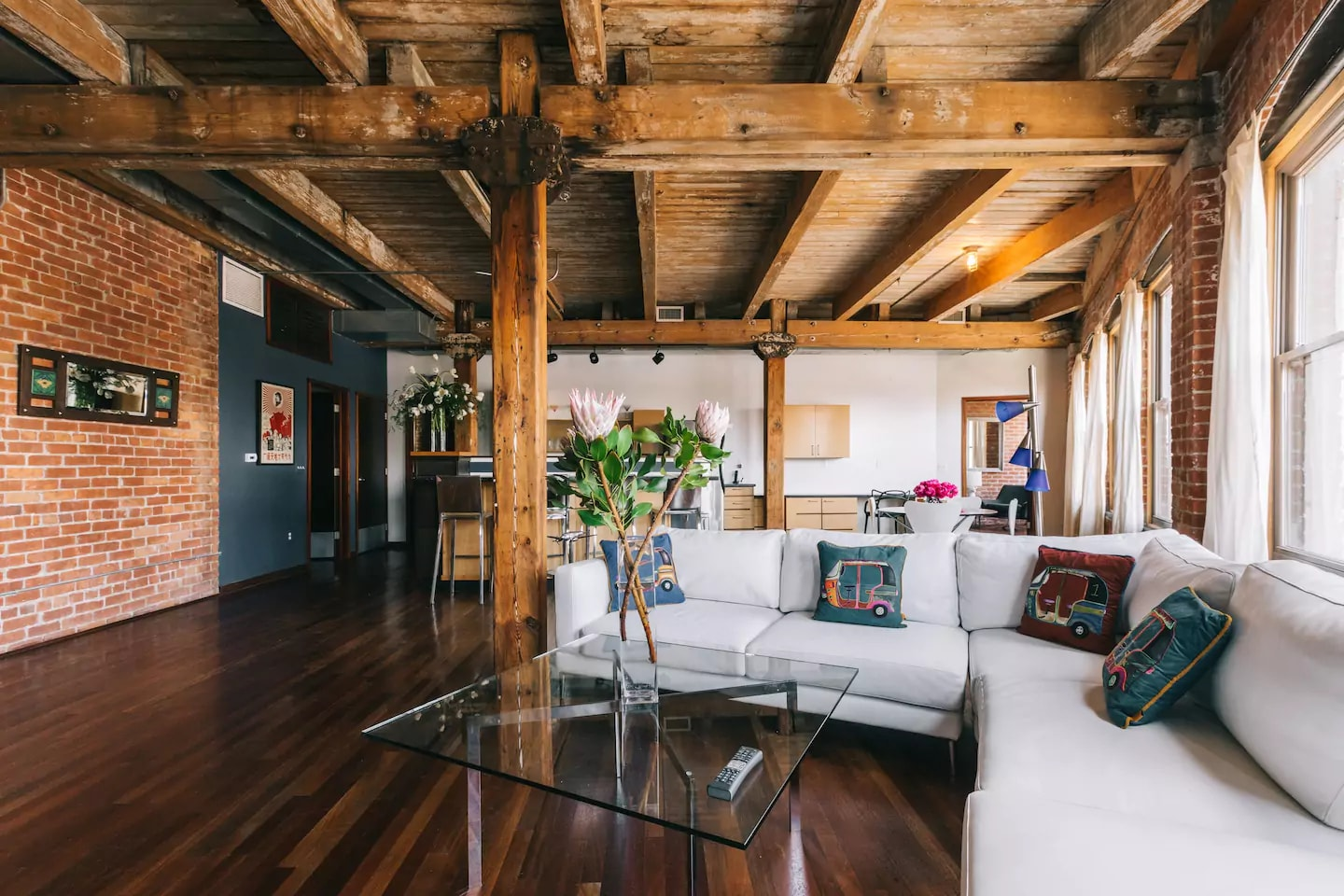 Luxury loft in Eastern Market