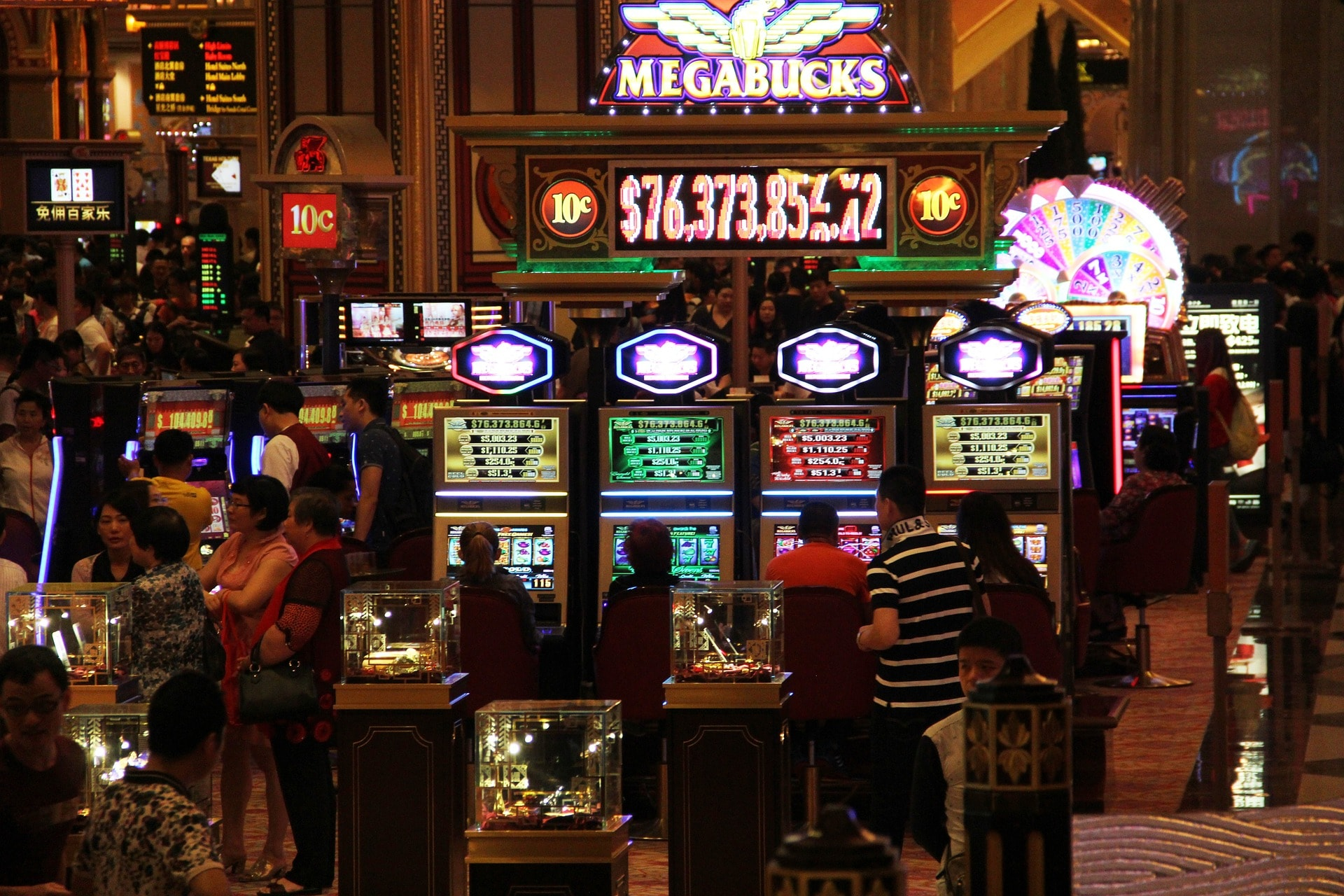 Macau casinos at Chinese New Year