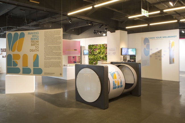 Making Wellbeing exhibition_02 c The Building Centre _ Agnese Sanvito