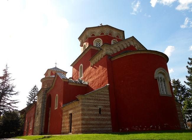 Žiča's magnificent monastery | © WikiMedia Commons