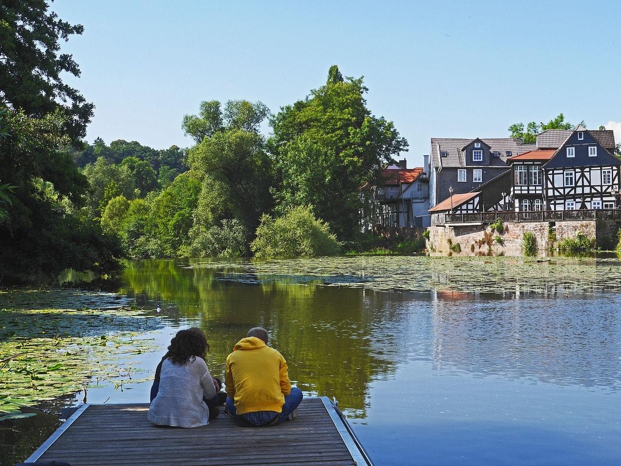 Marburg river