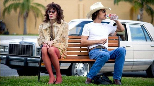 Jared Leto and Matthew McConaughey in <em>Dallas Buyers Club</em>   © Focus Features
