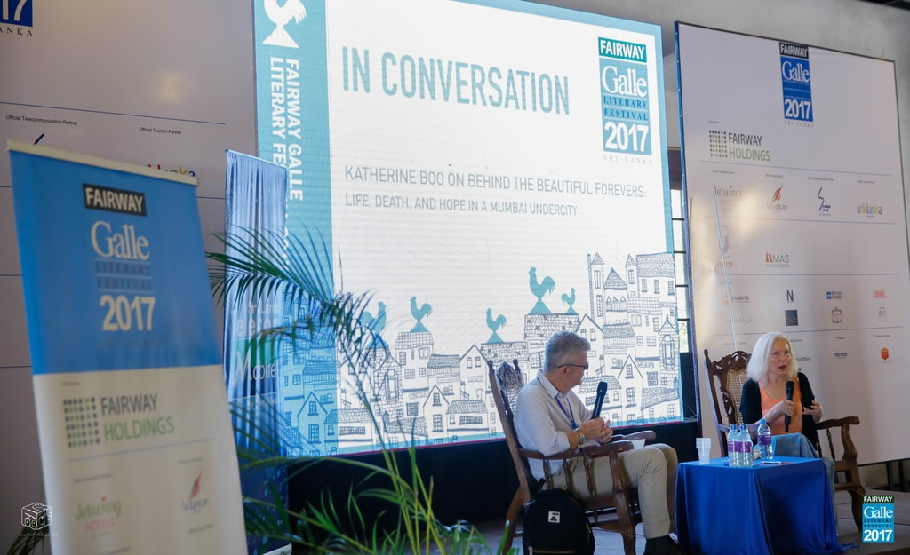 Session at the 2017 festival | Courtesy of Galle Literary Festival