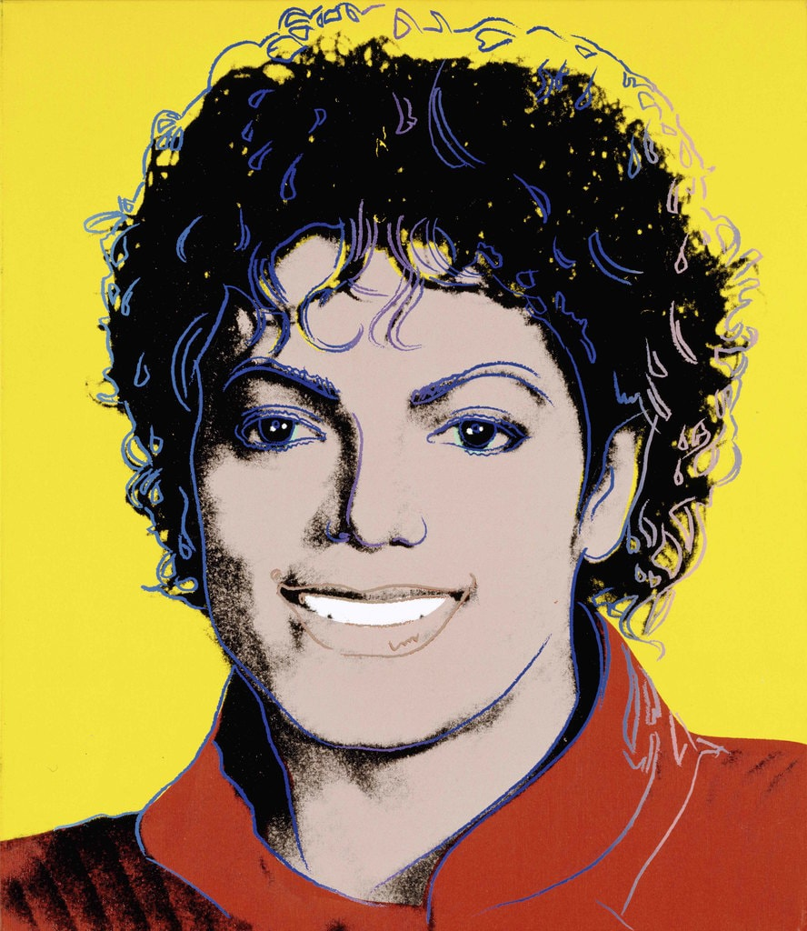 Andy Warhol, 'Michael Jackson', 1984 | Courtesy of the National Portrait Gallery, Smithsonian Institution, Washington DC