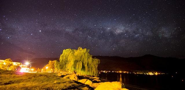 Milky Way Over Wanaka