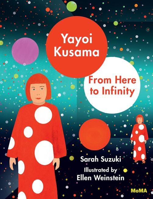 Illustration for Yayoi Kusama: From Here to Infinity © 2017 Ellen Weinstein