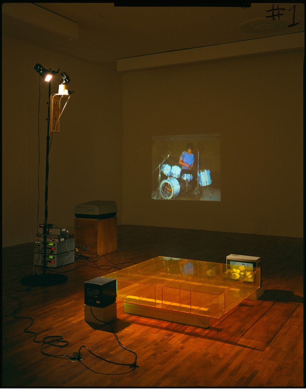 Bruce Nauman,<i>Learned Helplessness in Rats </i>(<i>Rock and Roll Drummer</i>),1988. © 2015 Bruce Nauman/Artists Rights Society (ARS), New York