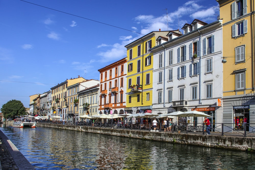 The colourful buildings of Navigli | © Alexandra Lande/Shutterstock