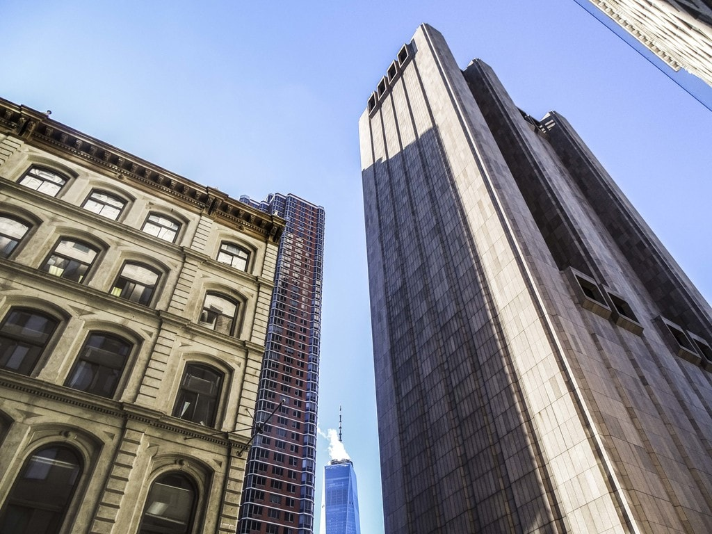 The building with One World Trade Center in the distance   © Amanda Suarez/Culture Trip
