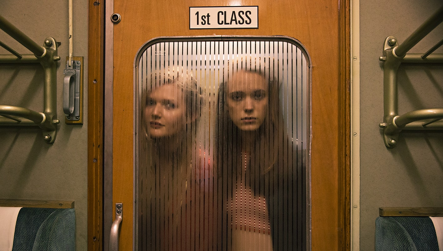 Sophie Kennedy Clark and Stacy Martin in <em>Nymphomaniac: Vol. 1</em>  © Magnolia Pictures