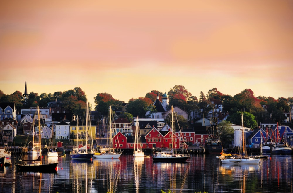 Lunenburg in the summer at dawn | © Nova Scotia Tourism/CTC