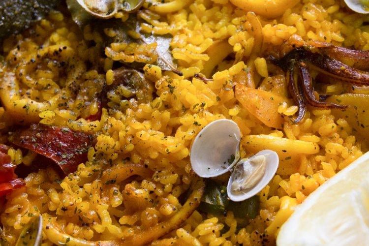 Seafood paella | © ajcespedes / Pixabay