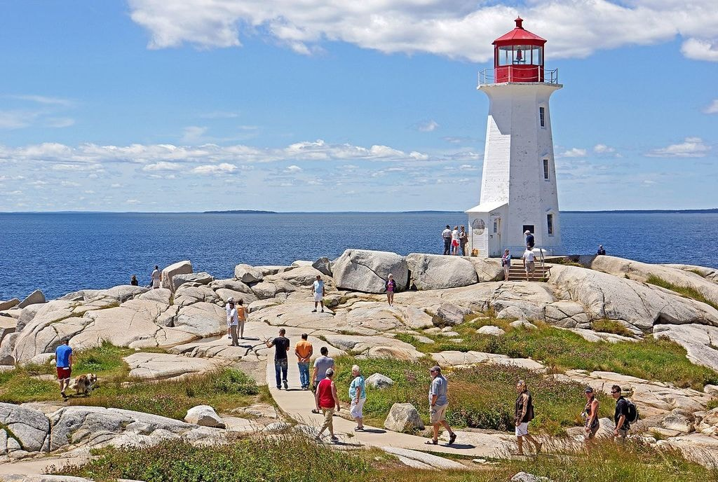 Peggy's Cove Lighthouse Dennis Jarvis WikiCommons