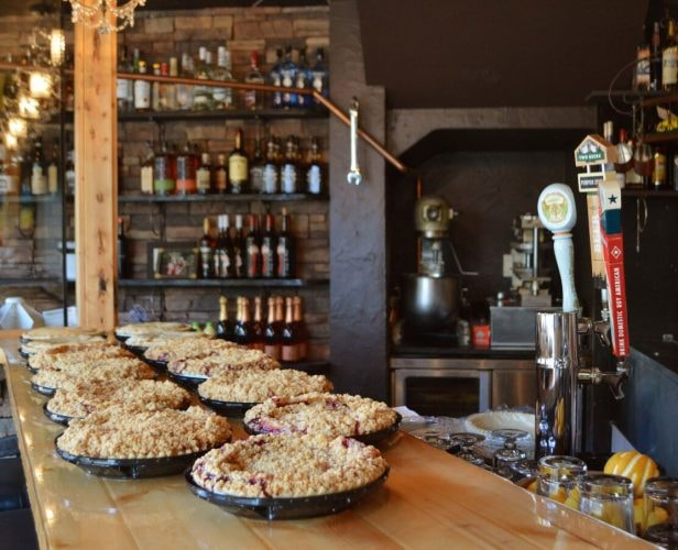Pies on Bar   Courtesy of Pie Bar