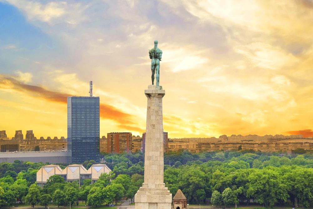 The glorious Victor Monument at Kalemegdan | © Datsenko Maryana/shutterstock