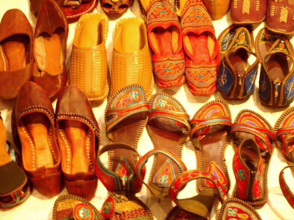 Rajasthan footwear