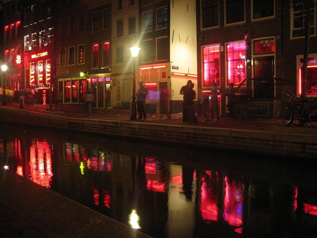 Red ligt district Dongguan China