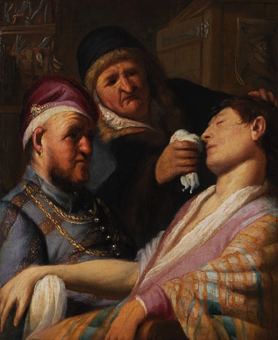 """<em>The Unconscious Patient (Allegory of Smell)</em> 