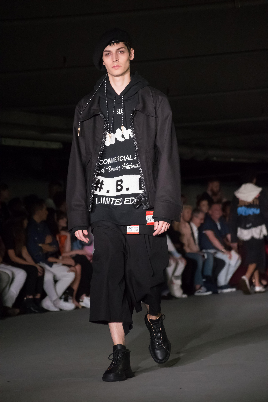 Maison Mihara Yasuhiro show, Runway, Spring Summer 2018, London Fashion Week Men's, UK - 11 Jun 2017