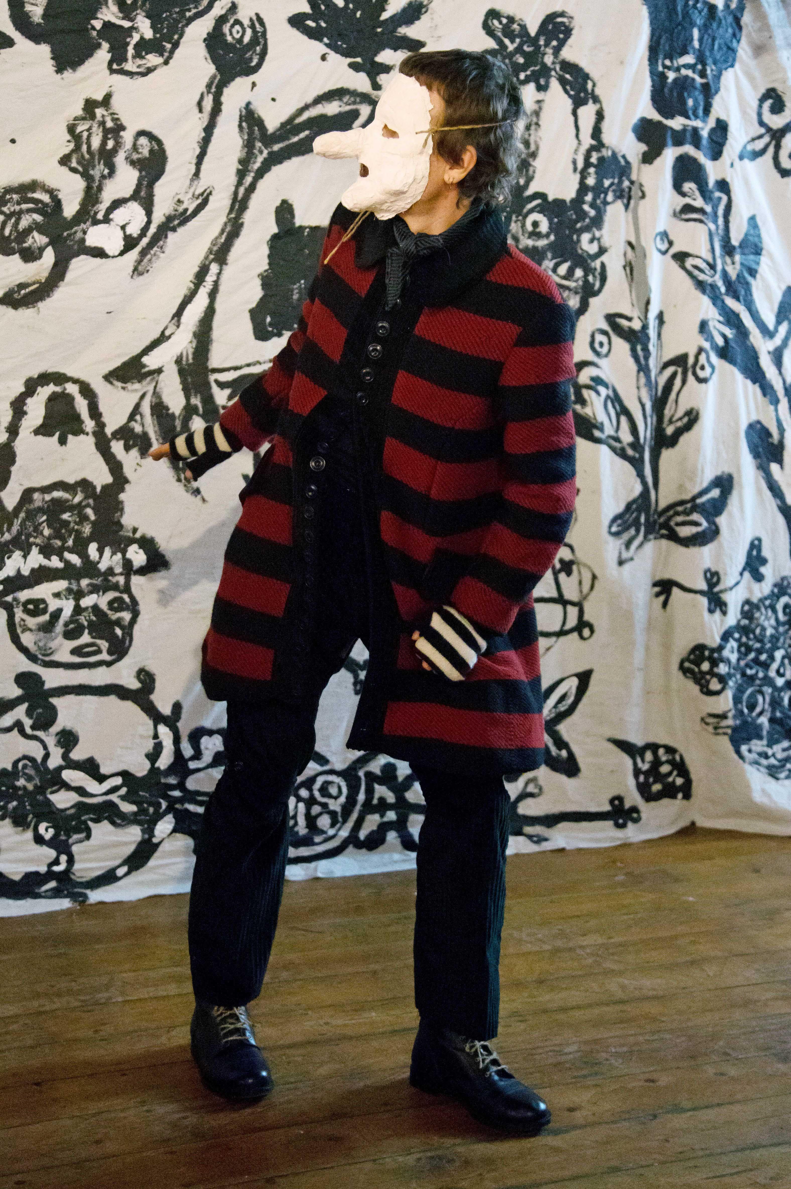 John Alexander Skelton show, Runway, Fall Winter 2018, London Fashion Week Men's, UK - 05 Jan 2018