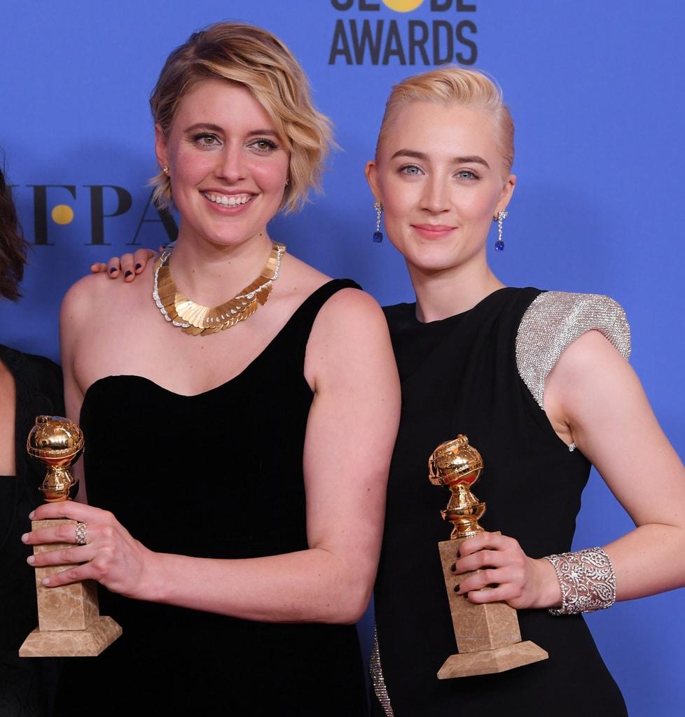 75th Annual Golden Globe Awards, Press Room, Los Angeles, USA - 07 Jan 2018