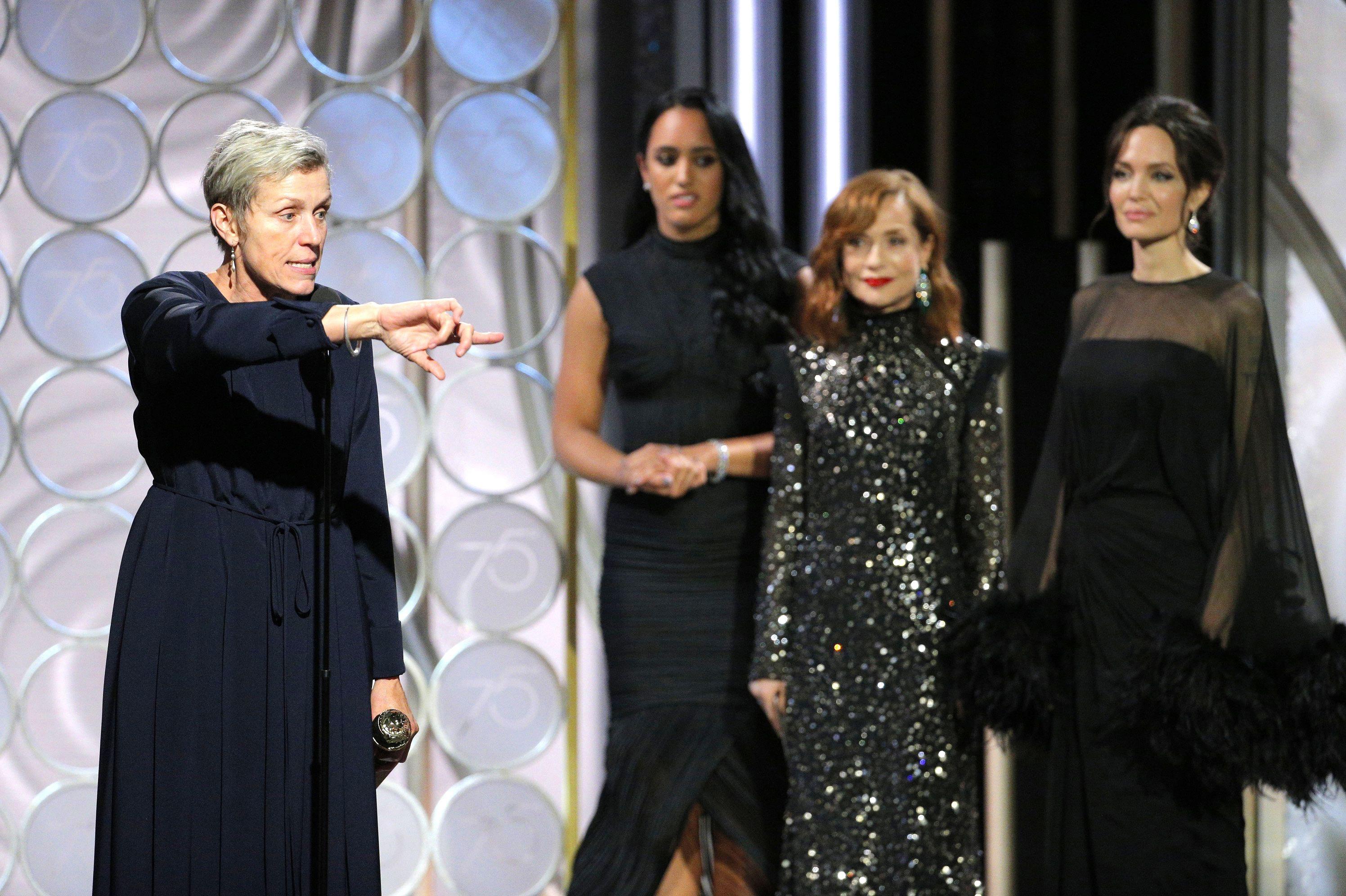 75th Annual Golden Globe Awards, Show, Los Angeles, USA - 07 Jan 2018