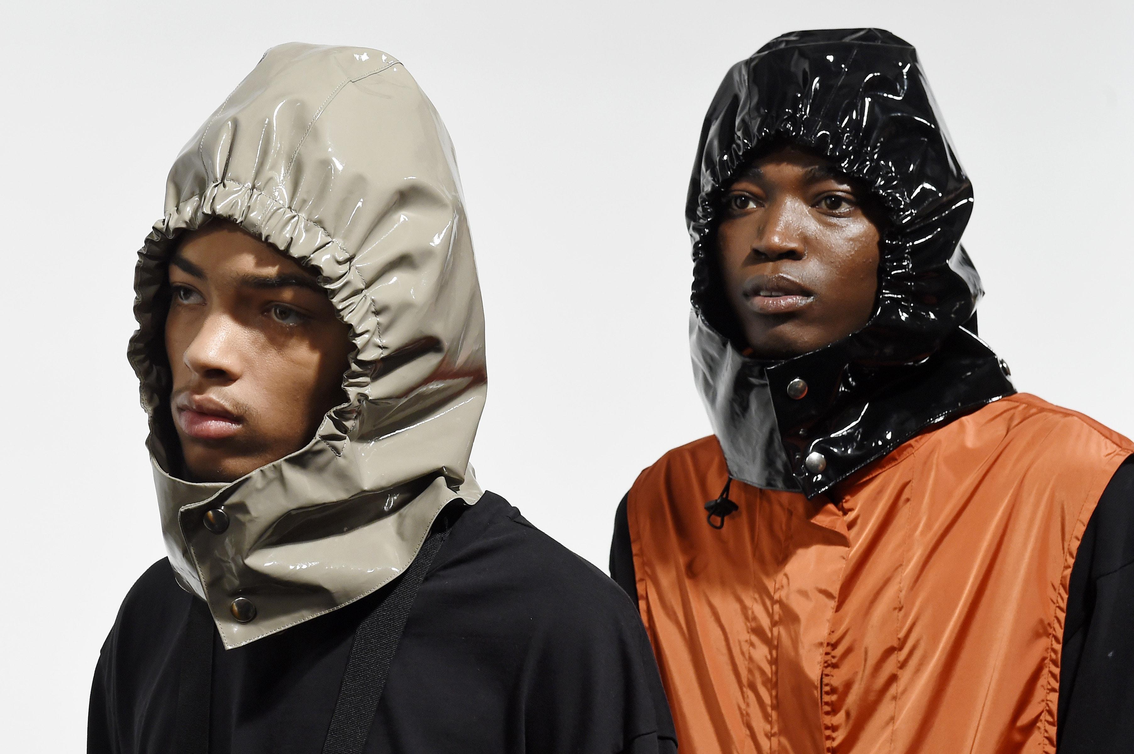 A-Cold-Wall show, Backstage, Fall Winter 2018, London Fashion Week Men's, UK - 08 Jan 2018