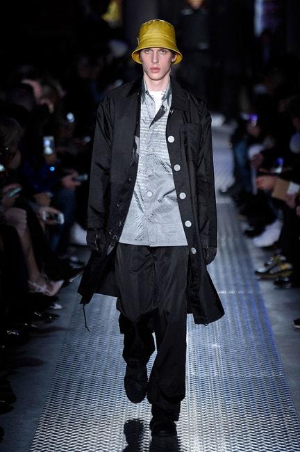 Photo by WWD/REX/Shutterstock (9319506z), Model on the catwalk Prada show, Runway, Fall Winter 2018, Milan Fashion Week Men's, Italy – 14 Jan, 2018