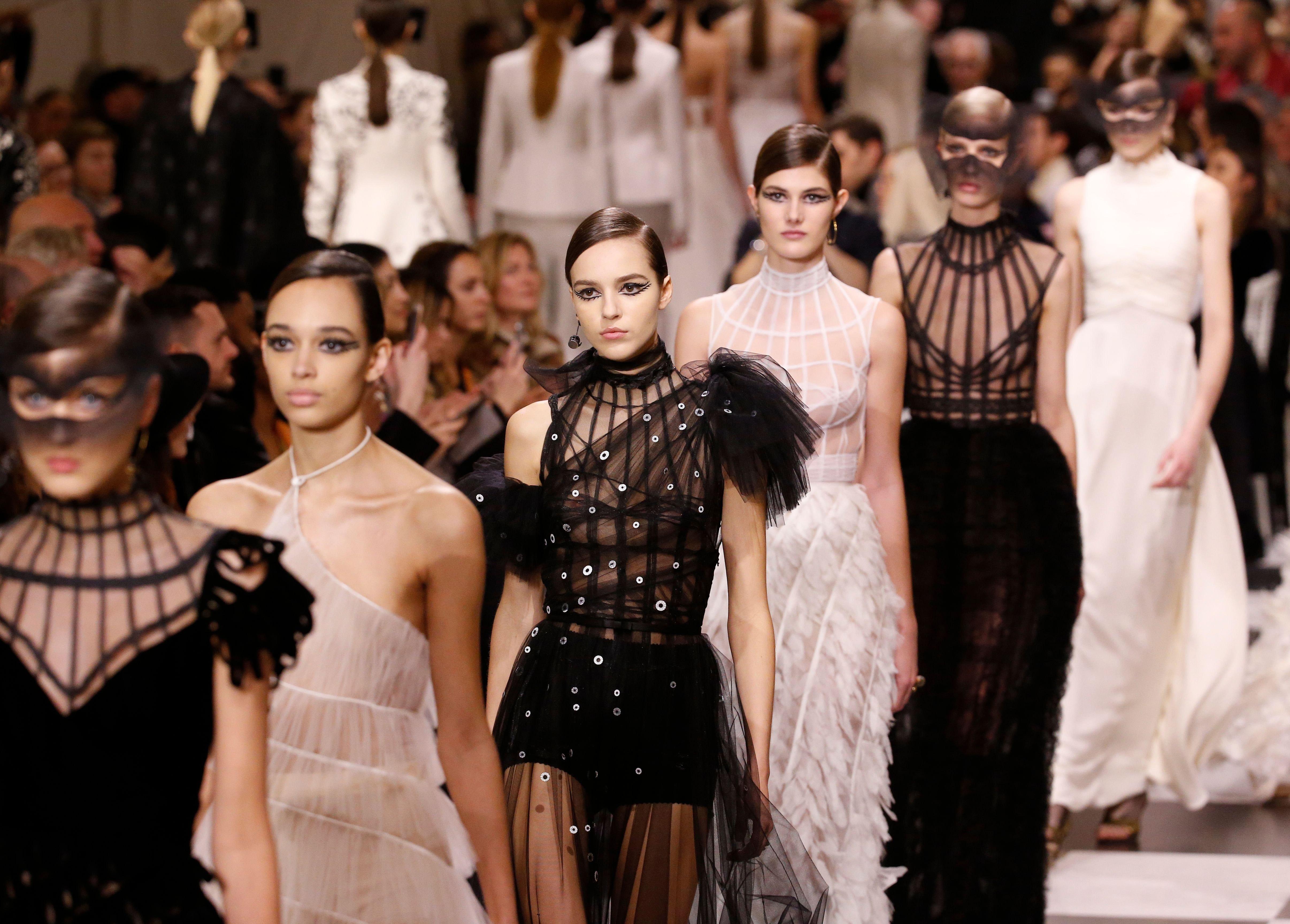 Christian Dior show, Runway, Spring Summer 2018, Haute Couture Fashion Week, Paris, France - 22 Jan 2018