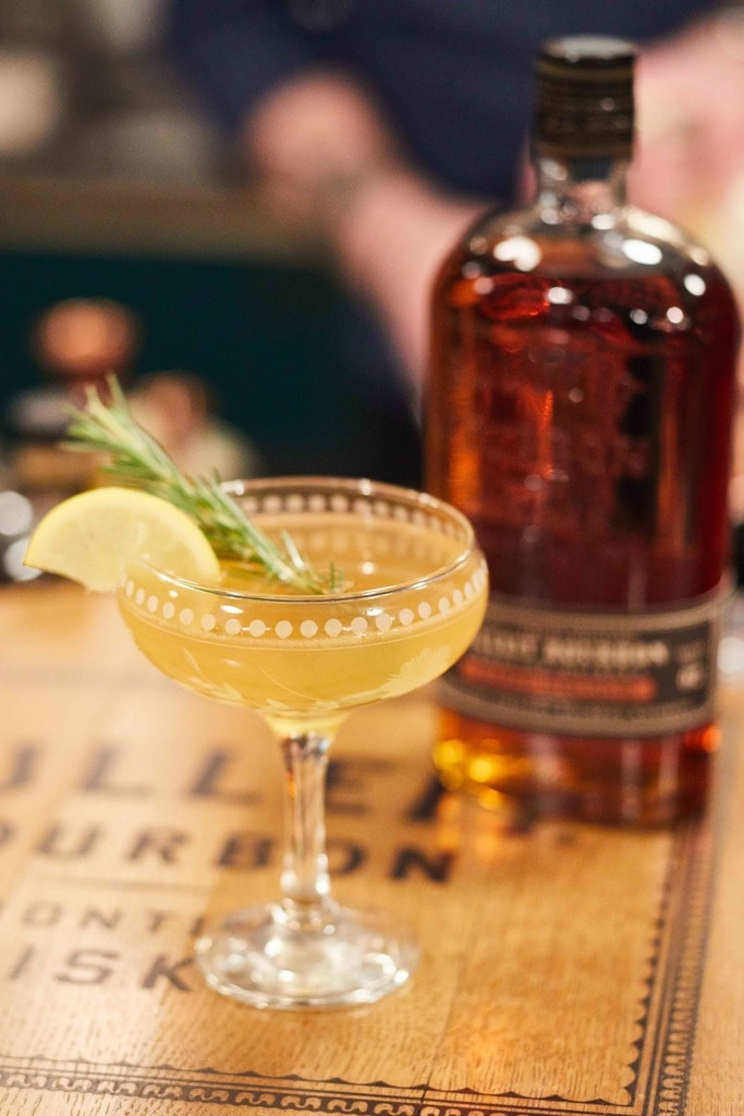 'Rosemary's Bourbon,' a cocktail created by bartender Anwar Warner for the Bulleit Frontier Bartender Lab  Courtesy of Bulleit Frontier Bartender Lab