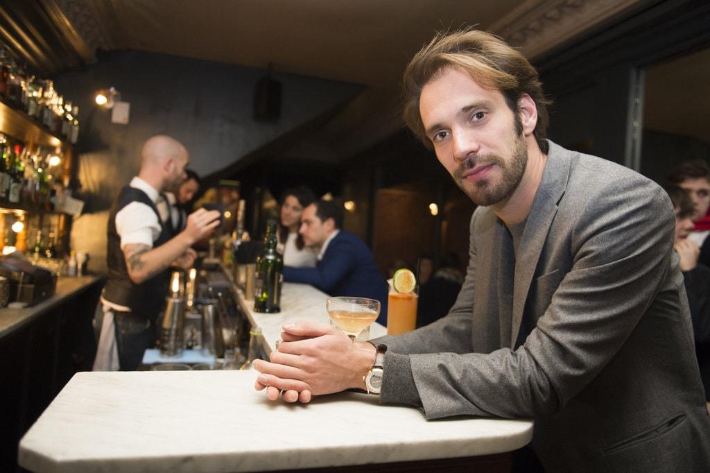 Jean-Éric Vergne at Prescription Cocktail Club in Paris | © Aurelien Meunier
