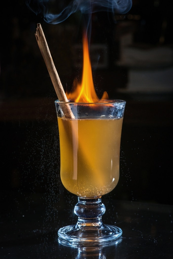 The Rum House's rum hot toddy