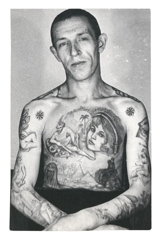 Russian Prison tattoo 7