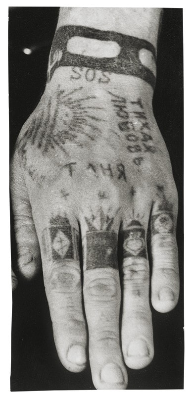 The secret meanings behind soviet prison tattoos for Russian criminal tattoo meanings