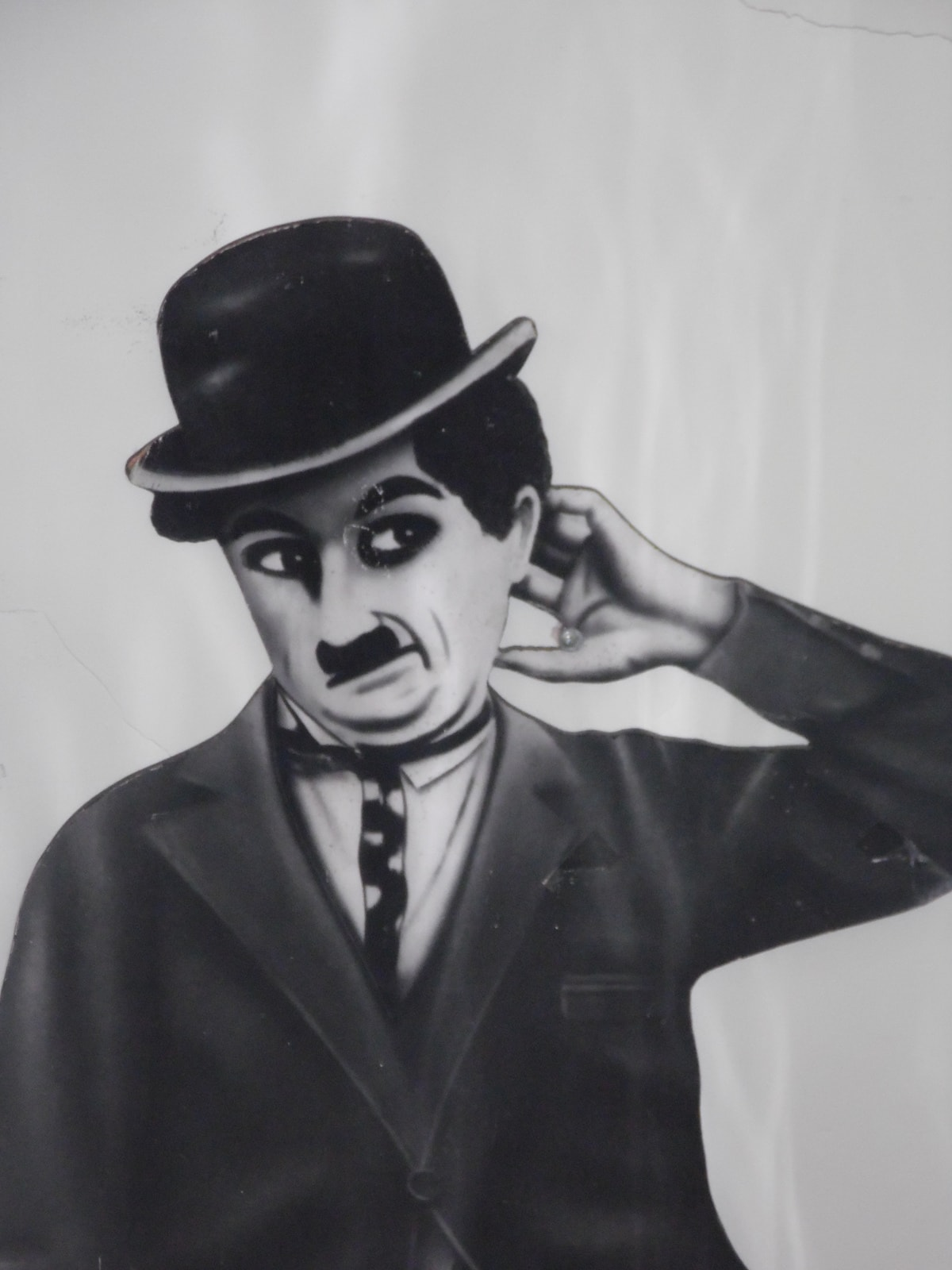An original rendering of Charlie Chaplin at the Cinema Museum | © Lynsey Ford/Culture Trip