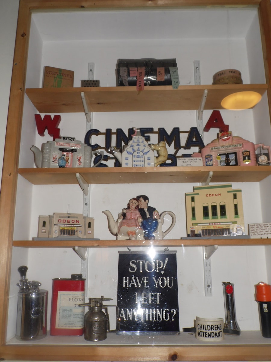Assorted picturehouse memorabilia at the Cinema Museum | © Lynsey Ford/Culture Trip