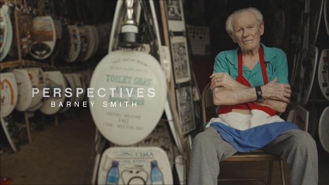 96 Year Old Barney Smith And His Toilet Seat Art Museum