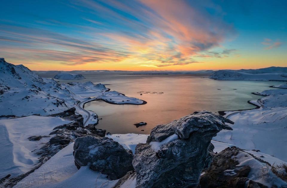 Sarnesfjord   © Sigbjørn Henriksen, Courtesy of Visit Nordkapp