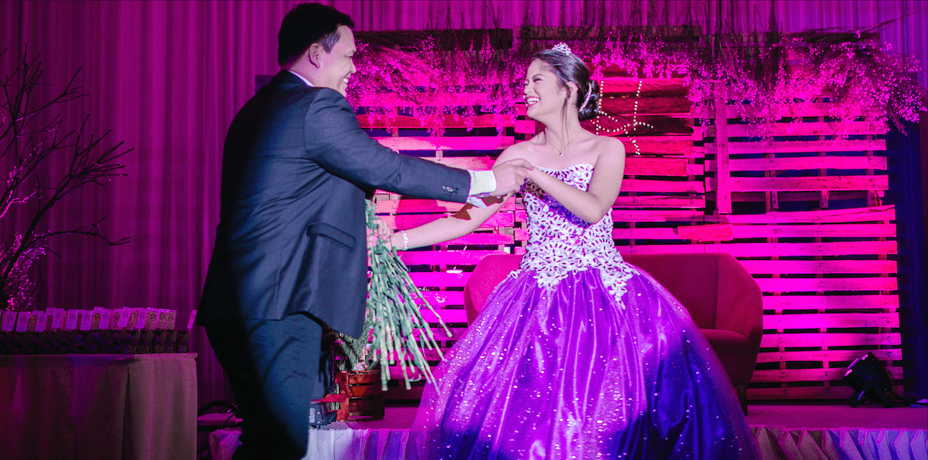 Real Life Fairytale A Girl S 18th Birthday In The Philippines