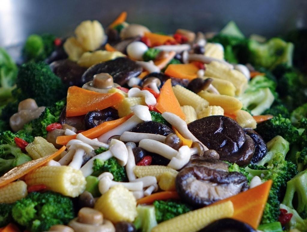 Mushroom Salad   © pxhere