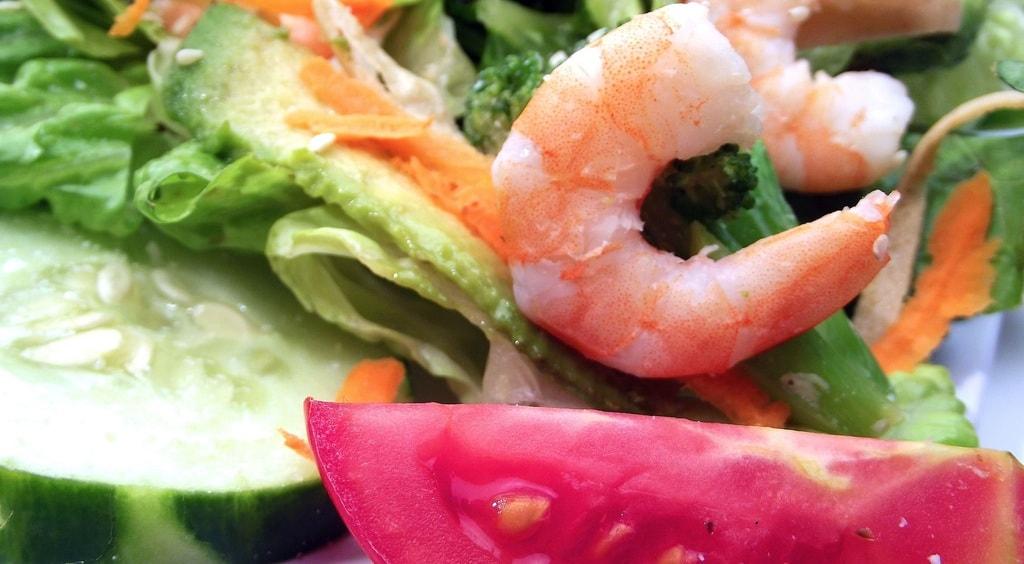 Shrimp and Cucumber Salad   ©GoodFreePhotos