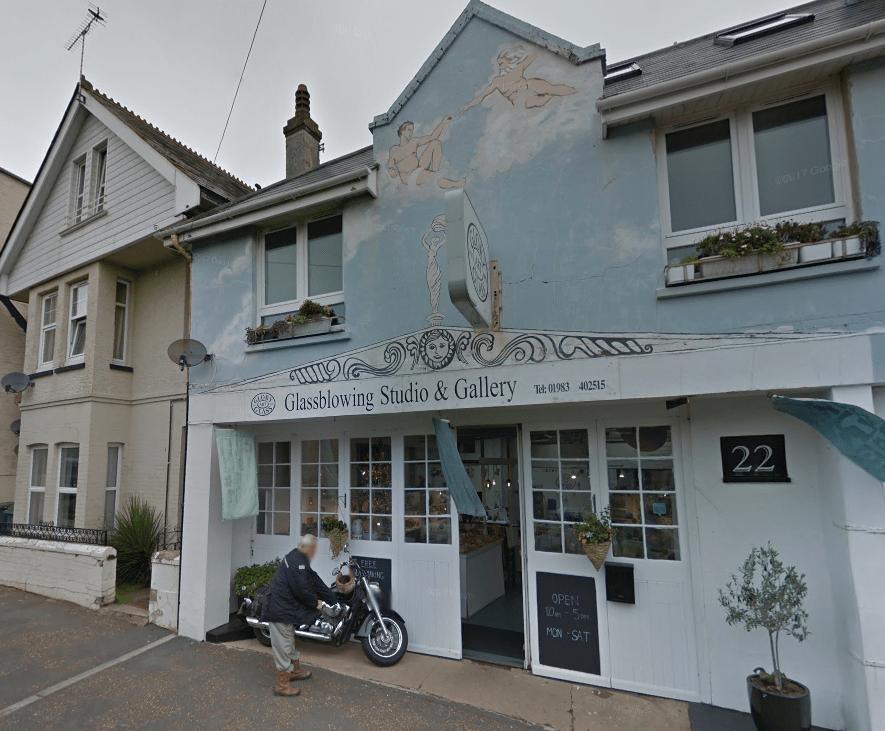 Glory Art Glass, Isle of Wight   © Google Streetview