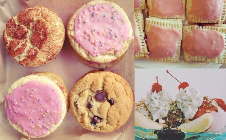 Dessert Collage   Courtesy of Seattle Cookie Counter