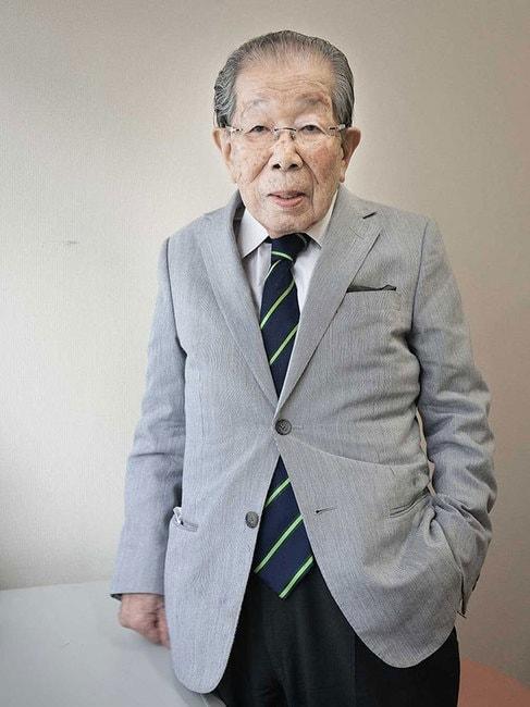 "Dr Shigeaki Hinohara in 2013, aged 103 | <a href=""https://commons.wikimedia.org/wiki/File:Shigeaki_Hinohara.jpg"" target=""_blank"" rel=""noopener"">© Karsten Thormaehlen/WikiCommons</a>"
