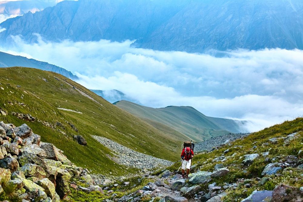 Magnificent views when hiking the trails of the Caucasus Mountains | © Vitalii Matokha/Shutterstock