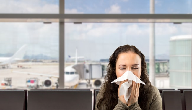 Keep your sniffles to yourself  © cunaplus/Shutterstock